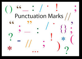 english and british punctuations