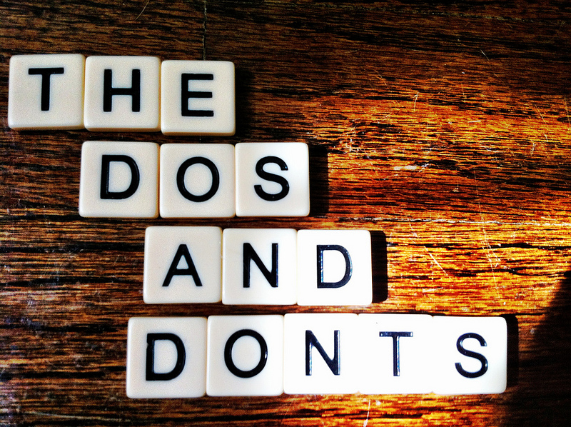 Do's and Don'ts of Academic Writing