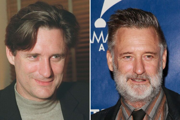 Bill Pullman, an American film, stage, and television actor. Pullman worked as an adjunct professor at Montana State University before deciding to pursue acting.