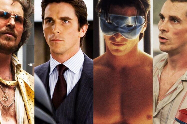 Christian Bale, an English actor who is known for his intense method acting style.
