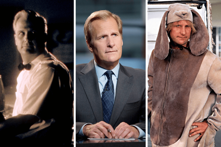 Jeff Daniels,an American actor, musician, and playwright whose career includes roles in films, stage productions, and television.