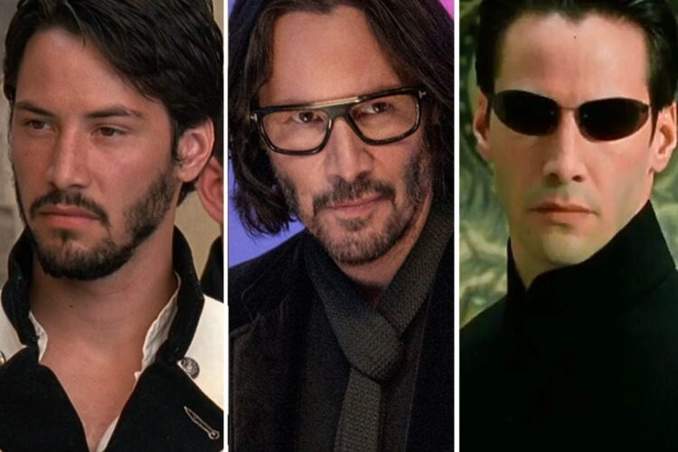 Keanu Reeves, a Canadian actor, musician, film producer, director, comic book writer and artist.