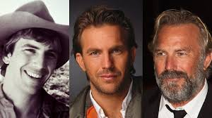 Kevin Costner, an American actor, filmmaker and musician. Costner began his acting career with Sizzle Beach, U.S.A. (1981).