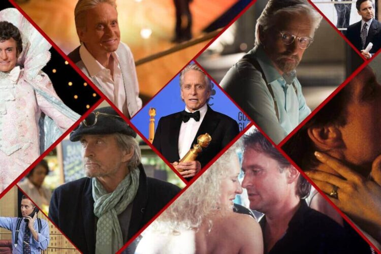 Michael Douglas, an American actor and producer, receive,d numerous accolades, Traffic ,China Syndrome ,Romancing The Stone, War of the Roses, American President ,Wonder boy, Wall Street, Game, Fatal Attraction ,Ant Man