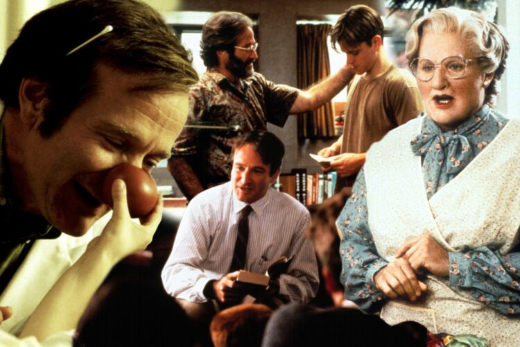 Robbin Williams, standup comedian, TV series, movies include Good Will Hunting, Aladdin ,Happy Feet ,Hamlet ,Insomnia ,One Hour Photo, Dead Again ,Aristocrats, The ,Good Morning, Vietnam ,Deconstructing Harry