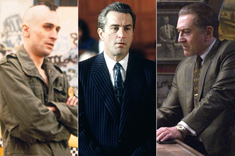 Robert De Niro, American actor, director and producer, The God Father II ,Taxi Driver, Goodfellas, Raging Bull, The Deer Hunter, The King of Comedy, Mean Streets, Casino, The Untouchables ,Once Upon a Time in America