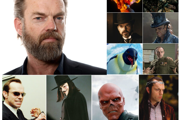 Hugo Weaving, He is best known for playing Agent Smith in The Matrix trilogy, Elrond in The Lord of the Rings and The Hobbit film trilogies,