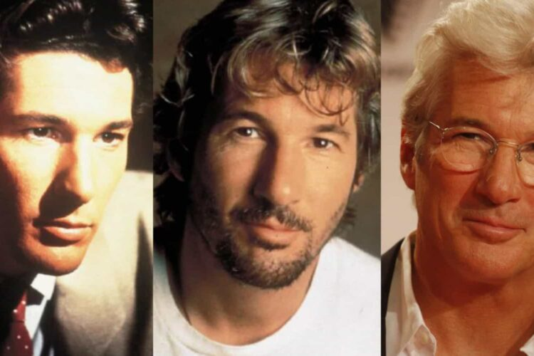 Richard Gere, He began in films in the 1970s, playing a supporting role in Looking for Mr. Goodbar and a starring role in Days of Heaven.