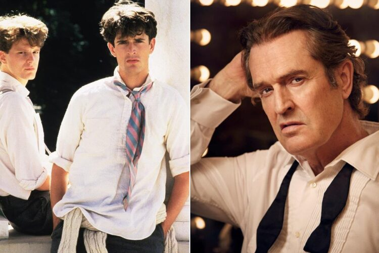 Rupert Everett, He first came to public attention in 1981, when he was cast in Julian Mitchell's play and subsequent film Another Country as a gay pupil at an English public school in the 1930s.