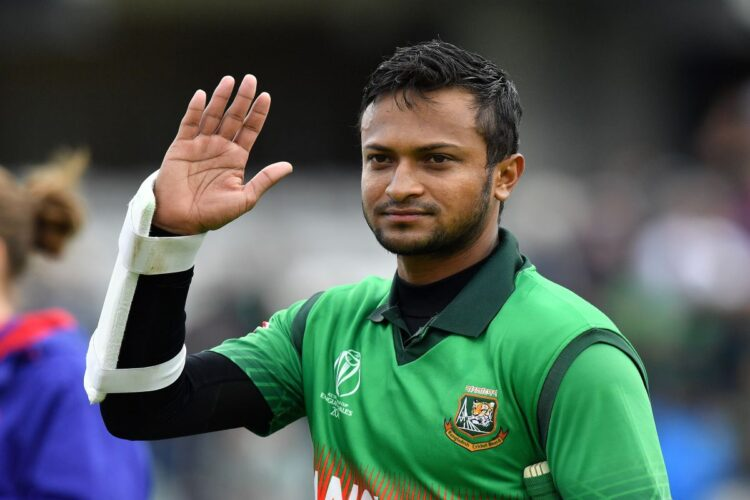 Shakib Al Hassan, a Bangladeshi international cricketer who was consistently ICC's no.1 all rounder in all three formats of the game for a decade.