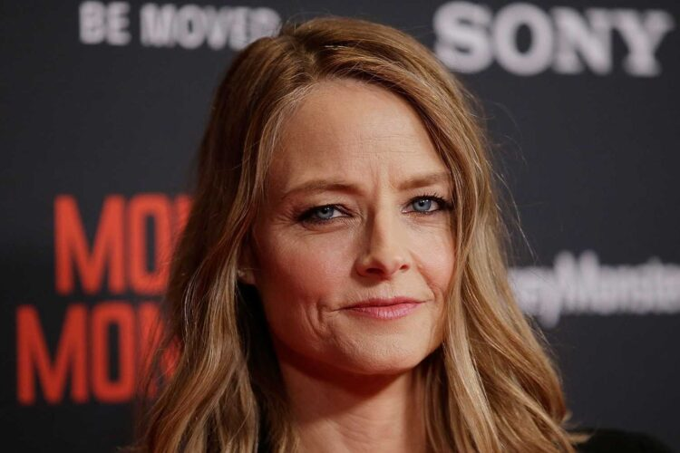 Jodie Foster, an American actress and director. She has received two Academy Awards, three British Academy Film Awards, two Golden Globe Awards,