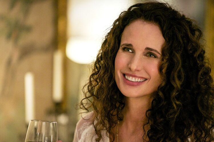 Andie MacDowell, an American actress and fashion model. She made her film debut in 1984's Greystoke: The Legend of Tarzan, Lord of the Apes,