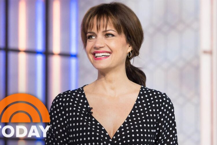 Carla Gugino, she received recognition for her starring roles as Ingrid Cortez in the Spy Kids trilogy, Rebecca Hutman