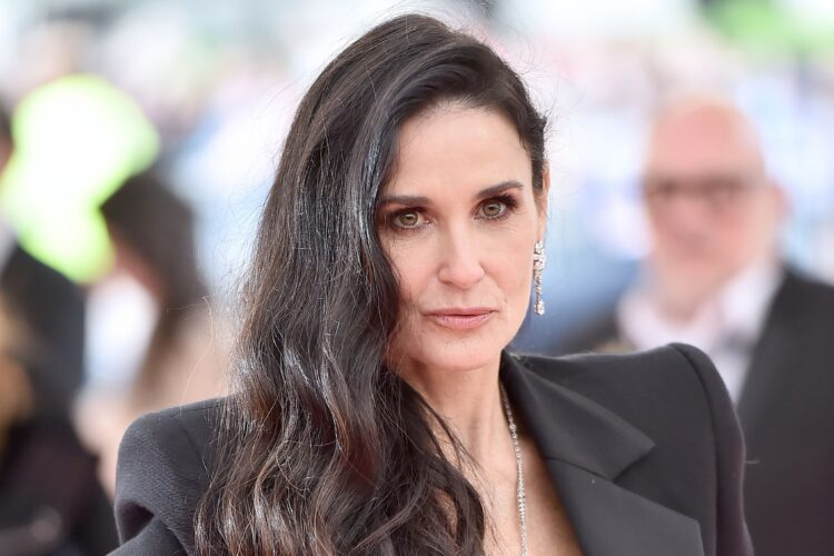 Demi Moore, making her film debut in 1981, she appeared on the soap opera General Hospital and subsequently gained recognition as a member of the Brat Pack with roles in Blame It on Rio, St. Elmo's Fire, and About Last Night....
