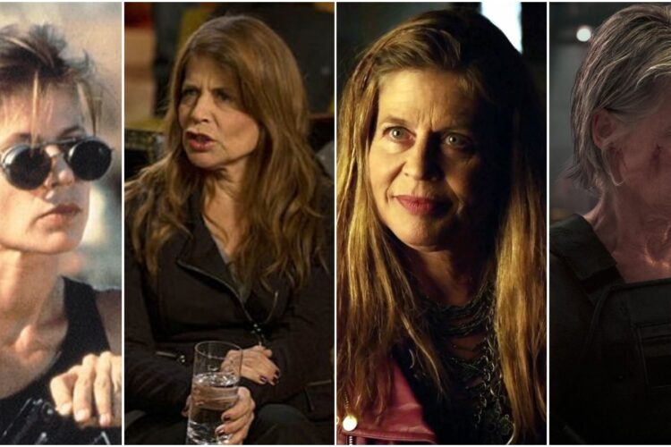 Linda Hamilton, She is best known for her portrayal of Sarah Connor in the Terminator film series and Catherine Chandler in the television series Beauty and the Beast,