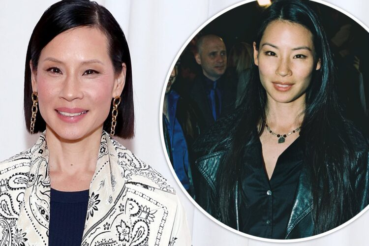 Lucy Liu, an American actress who has worked in both television and movies.