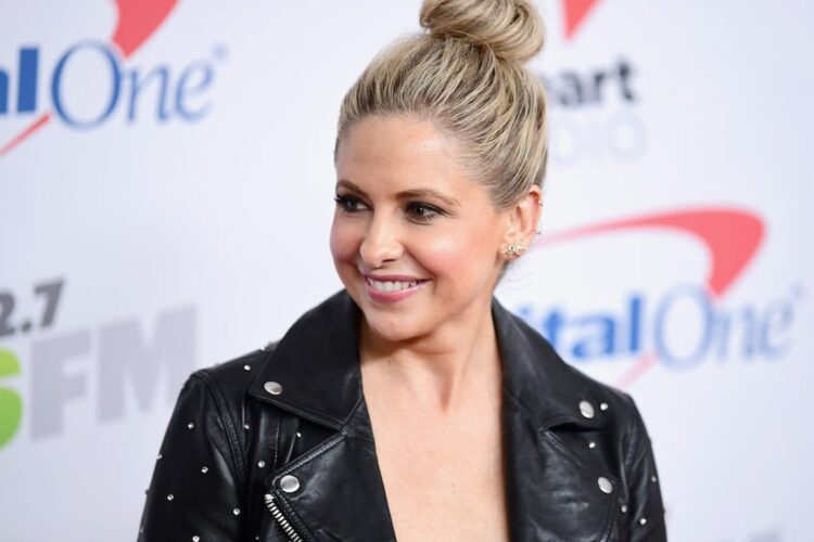 Sarah Michelle Gellar, being spotted by an agent at the age of four in New York City, she made her acting debut in the made-for-television film An Invasion of Privacy.