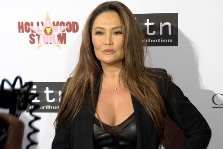 Tia Carrere, an American actress, singer, and former model, who obtained her first big break as a regular on the daytime soap opera General Hospital