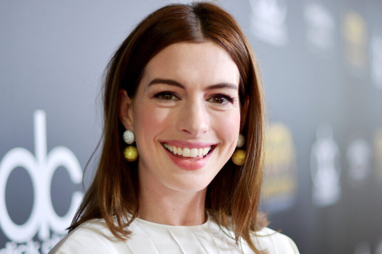 Anne Hathaway, The recipient of many awards, including an Academy Award, a Primetime Emmy Award, and a Golden Globe, she was one of the highest-paid actresses in the world in 2015.