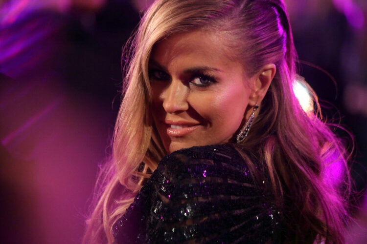 Carmen Electra, an American model, actress, singer, television personality, dancer, and author.