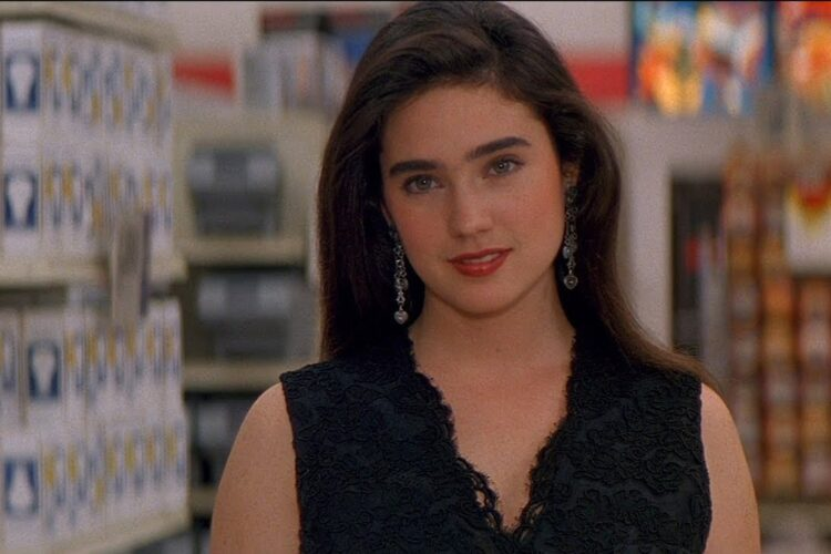 Jennifer Connelly, She appeared in magazine, newspaper and television advertising, before she made her film acting debut in the crime film Once Upon a Time in America.