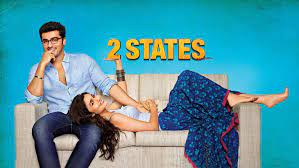 2 States, is a 2014 Indian Hindi-language romantic comedy film based on Chetan Bhagat's 2009 novel 2 States: The Story of My Marriage