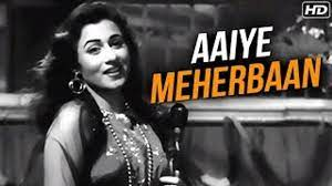 Aaiye Meherbaan Howrah-Bridge, is a Hindi language song and is sung by Asha Bhosle.