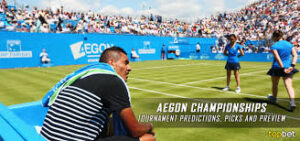 Aegon Championships, also known traditionally as the Queen's Club Championships, was a men's tennis tournament played on outdoor grass courts.