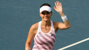 Agnieszka Radwanska, a Polish former professional tennis player.