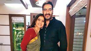 Ajay Devgan and Kajol, Kajol and Ajay are happily married with one child while a second one is on its way.