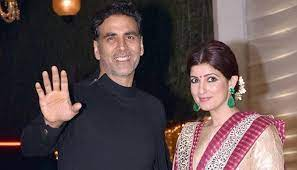 Akshay Kumar and Twinkle Khanna, when Akshay Kumar finally tied the knot with Twinkle Khanna, whom he met during the shoot of their film international khilaadi. Since then they are together and also have a daughter.