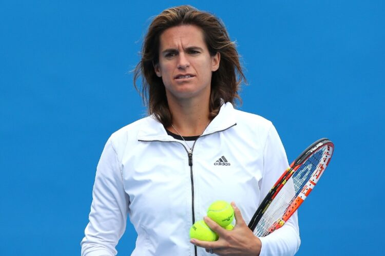 Amelie Mauresmo, a French retired professional tennis player and former world No. 1.