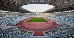 An Olympic stadium, a multi-purpose stadium in Montreal, Canada, located at Olympic Park in the Hochelaga-Maisonneuve