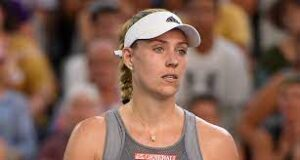 Angelique Kerber, a German professional tennis player. A former world No. 1 and winner of three Grand Slam tournaments,