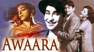 Awaara, Raj, a petty thief, kills his employer when he attacks his mother and is arrested for the crime.