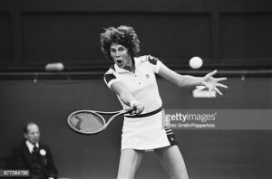 Betsy Nagelson, an American former professional tennis player.