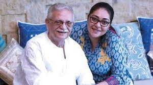Bollywood directors Gulzar and Meghna Gulzar, Gulzar best projects is Angoor etc, and Meghna best projects is The Times Of India As A Writer etc
