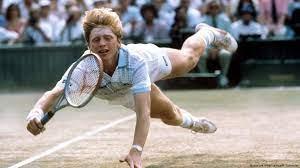 Boris Becker, a German former world No. 1 professional tennis player.