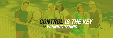 Breath Control in Tennis, A good way to practice is to start exhaling slightly early – immediately as you're beginning your forward swing towards the ball.