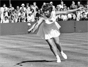 Carole Caldwell Graebner, an American tennis player.