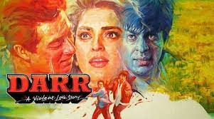 Darr, Rahul is obsessed with Kiran and stalks her constantly. However, Rahul goes berserk when she gets engaged to Sunil, a navy officer, and he decides to forcefully claim Kiran for himself.
