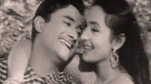 Dev Anand and Nautun, his pair with Nautan was popular among the audiences