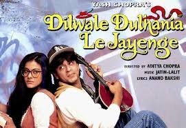Dilwale Dulhania Le Jayenge, Raj and Simran meet during a trip across Europe and the two fall in love.