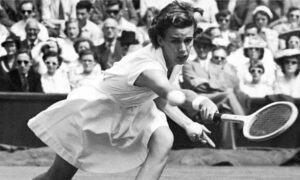 Doris Hart, a tennis player from the United States who was active in the 1940s and first half of the 1950s.