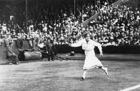 Dorothea Douglass Lambert Chambers, a British tennis player.