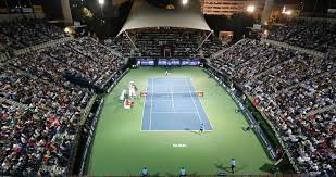 Dubai Tennis Championships, a professional tennis tournament owned and organized by Dubai Duty Free and held annually in Dubai, United Arab Emirates on outdoor hardcourts.