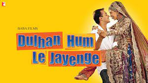 Dulhan hum le jayenge, Sapna is raised by her three uncles, each one of them with a contrasting pursuit in life. She falls in love with Raja, who tries to impress each of her uncles in a different manner.