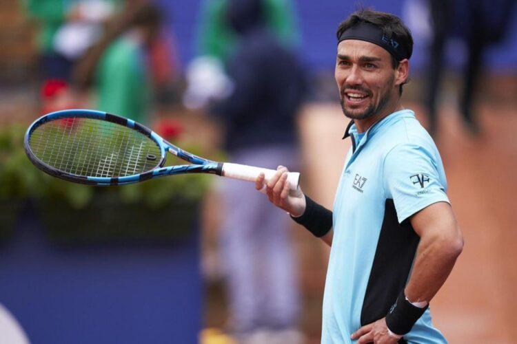 Fabio-Fognini, an Italian professional tennis player.