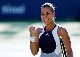 Flavia Pennetta, a retired Italian tennis player and Grand Slam champion in both singles and doubles.