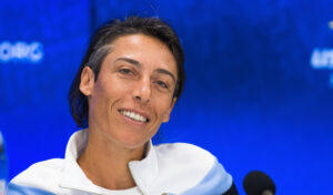 Francesca Schiavone, a retired Italian tennis player. She turned professional in 1998 and won the 2010 French Open singles title,